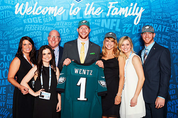 Doug Wentz Discusses Carsons Journey To The Nfl Video