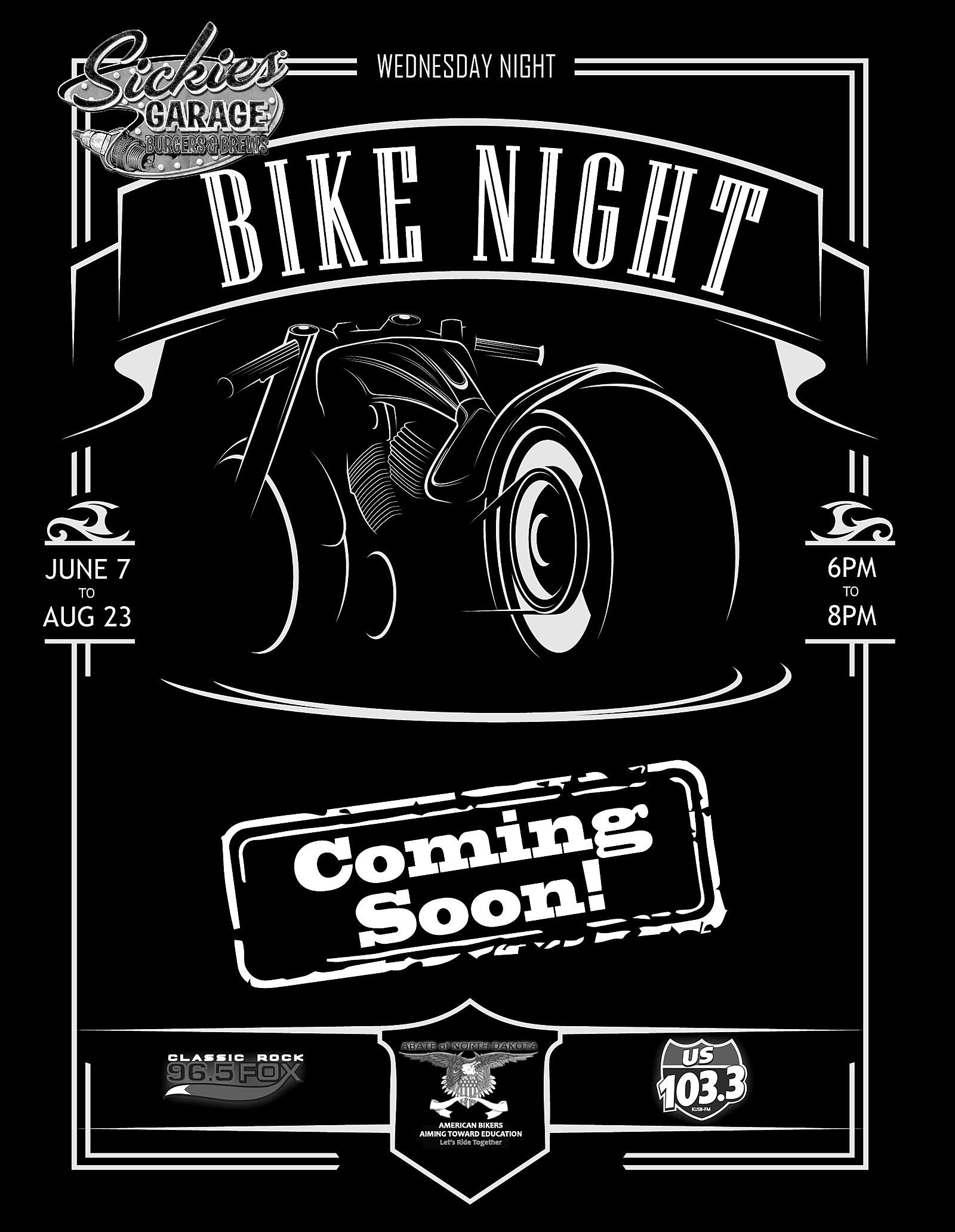 bike night abate - coming soon